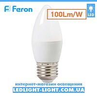 Светодиодная лампа Feron LB - 197 7w 4000K Е 27 (нейтральный-белый).