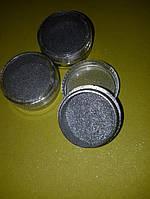 Пигмент для дизайна ногтей серебро