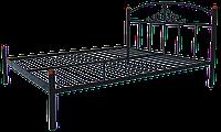 Кровать металлическая Диана (Металл-Дизайн) двухспальная 160