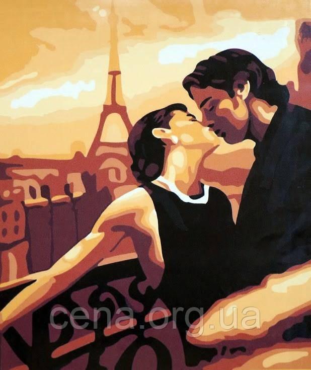 Картины по номерам/обложка. Мечтами в Париже. 40*50 - Цена в Одессе