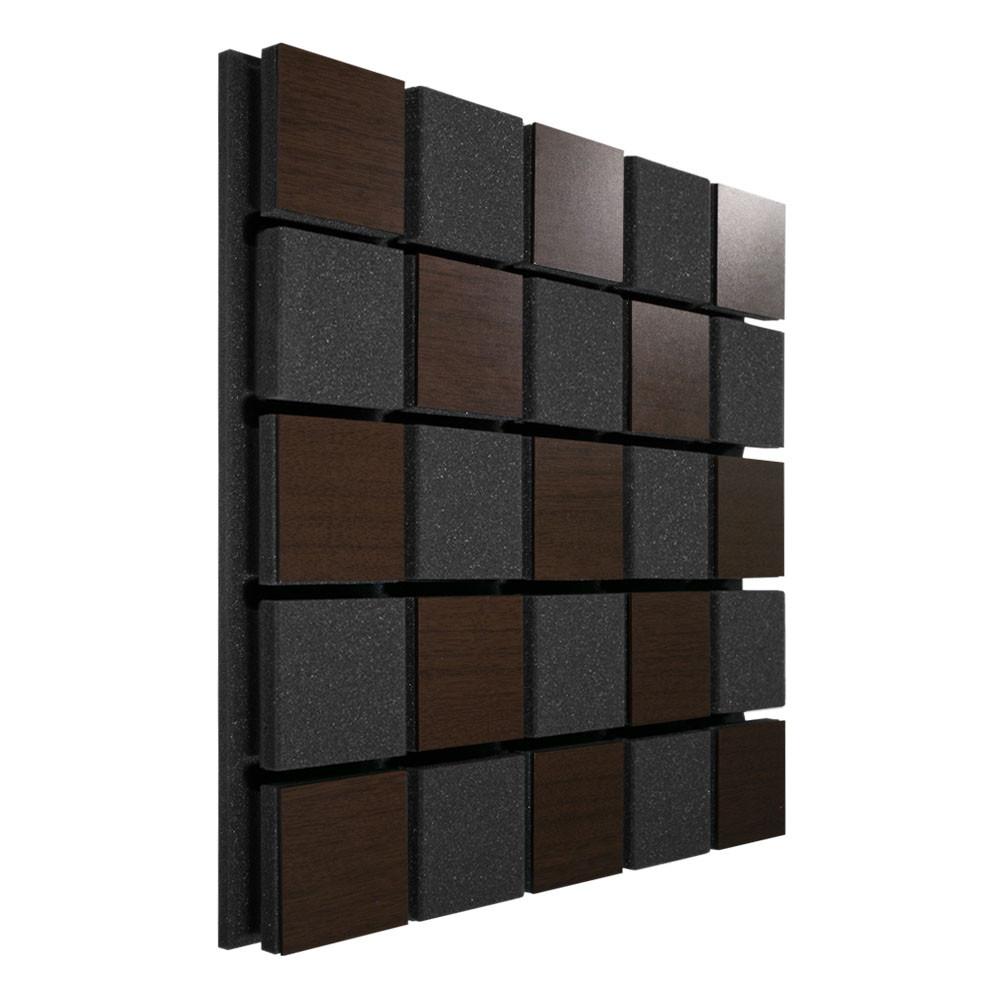 Акустическая панель Ecosound Tetras Acoustic Wood Brown 50x50см 53мм цвет коричневый