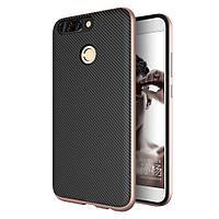 Чехол накладка IPAKY TPU + бампер PC для Huawei Honor 8 Pro розовое золото