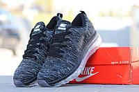 Кроссовки Nike Air Max Flyknit (черные) кроссовки найк nike