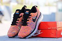 Кроссовки Nike Air Max Flyknit (оранжевые) кроссовки найк nike