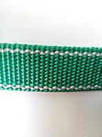 Лента капроновая 50м 20мм х 50м, зеленый