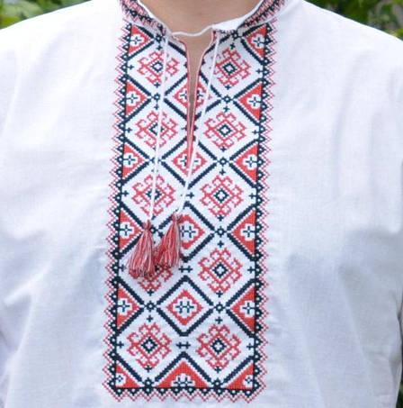 Вышиванки для мужчин с коротким рукавом, фото 2