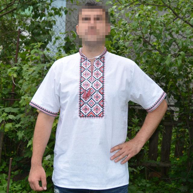 Вышиванки для мужчин с коротким рукавом