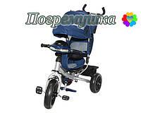 Детский трехколесный велосипед Crosser T-One Eva - Синий