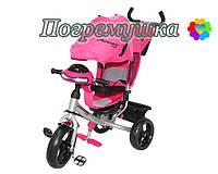 Детский трехколесный велосипед Crosser T-One Eva - Розовый