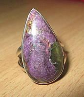 """Серебряное кольцо с варисцит-пурпуритом """"Ультрафиолет"""" , размер  17 от студии LadyStyle.Biz"""