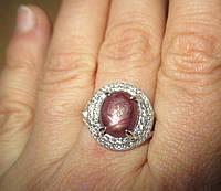 """Шикарный перстень """"Сатурн """" с рубинами , размер 17,9 от студии LadyStyle.Biz, фото 1"""