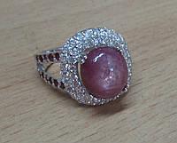 """Шикарный перстень """"Рубиновый сок """" с рубинами , размер 17,2 от студии LadyStyle.Biz, фото 1"""