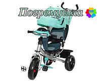 Детский трехколесный велосипед Crosser T-One Eva - Бирюзовый