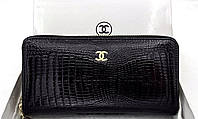 Женский кошелек Chanel (ch 9049) black SR-526