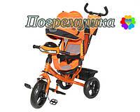 Детский трехколесный велосипед Crosser T-One Eva - Оранжевый