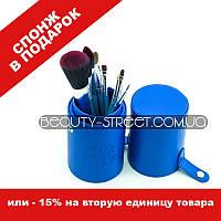 Набор кистей Look Like 7 синие / Кисти в тубусе 7, фото 1