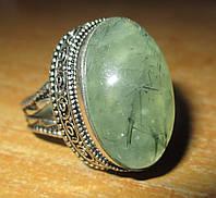 """Элегантный перстень с пренитом """"Овал"""", размер 19,9 от студии  LadyStyle.Biz, фото 1"""
