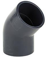 Колено ПВХ ERA 45° - диаметр 50мм