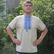 Сорочка вышиванка с коротким рукавом