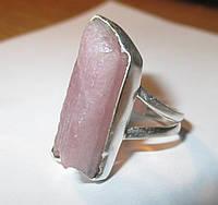 """Природное колечко с розовым турмалином """"Друза"""", размер 17,7 ,  от студии LadyStyle.Biz, фото 1"""