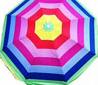 Зонт пляжный МН-0041 диаметр 2,4м серебро