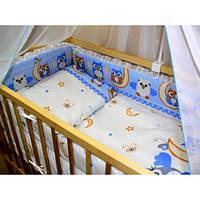 ДБ012/3 Спальний набір у дитяче ліжко (без кармана)