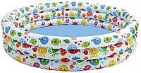 Детский надувной бассейн Рыбки Intex 56440 (168 х 40 см)