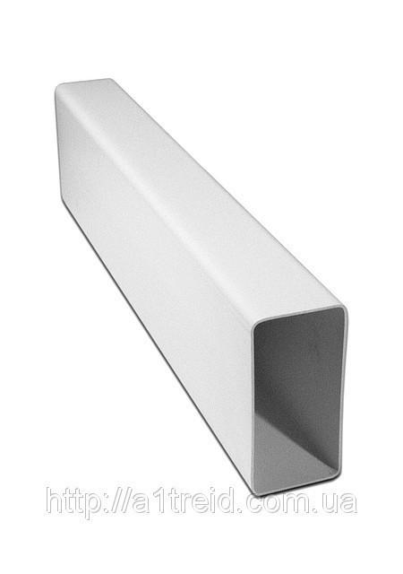 Воздуховод плоский, ПВХ, 60х120 мм, L 0,5 м (612ВП)