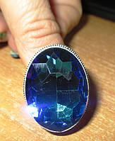 """Радужное кольцо """"Мистик"""" с мистик топазом, размер 19,5 от студии LadyStyle.Biz, фото 1"""
