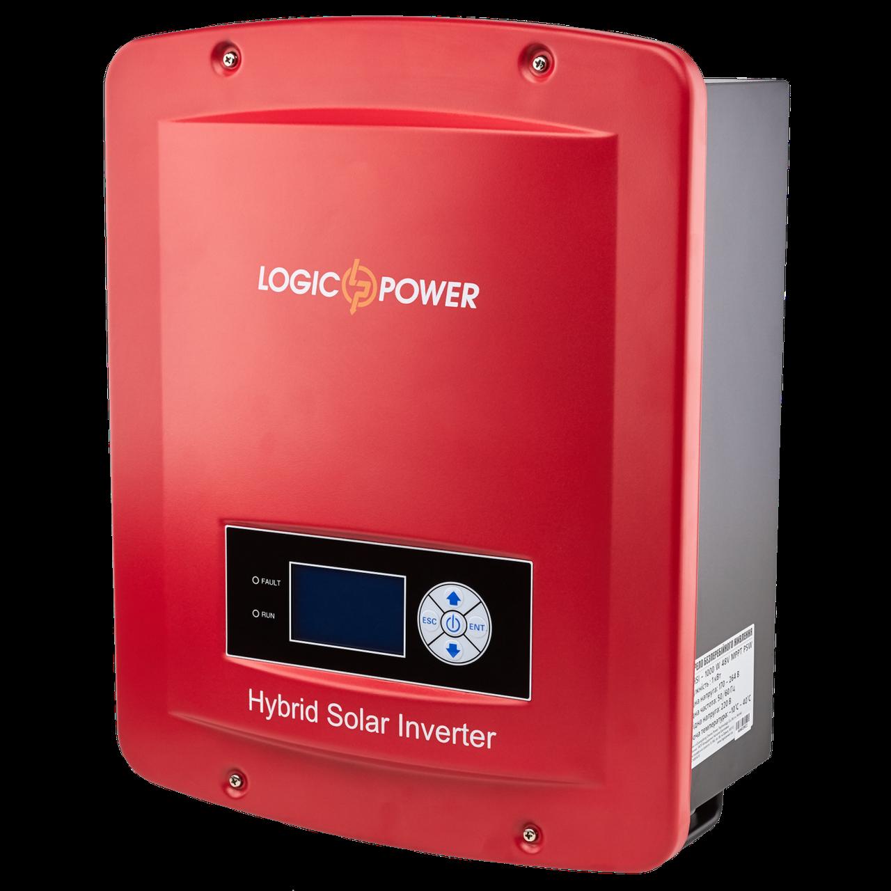 Гібридний інвертор LogicPower LP-GS-HSI 2000W 48v МРРТ PSW