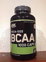OPTIMUM BCAA 1000, 200 КАПСУЛ