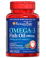 Puritan's Pride Omega 3 Fish Oil 100 caps