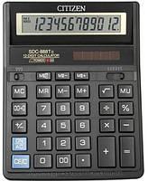 """Калькулятор """"Citizen"""" SDC-888 T черн 12разрядный (оригинал)"""