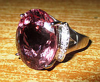"""Огромный перстень с султанитом и сапфирами  """"Султан"""", размер 17 от студии LadyStyle.Biz"""