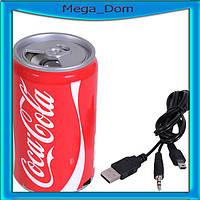 Портативная Колонка MP3 micro coca-cola