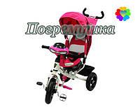 Детский трехколесный велосипед Crosser T-One Air - Розовый