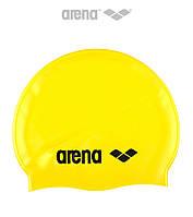 Силиконовая шапочка для плавания Arena Classic (Yellow)