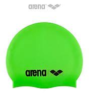 Силиконовая шапочка для плавания Arena Classic (Acide Lime)