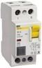 Выключатель дифференциальный ВД (УЗО) ВД1-63 2Р  16А 300мА ИЭК