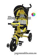 Детский трехколесный велосипед Crosser T-One Air  - Желтый