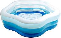 Надувний басейн Зірка Intex 56495 (185 х 180 х 53 см)