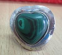 Перстень с малахитом от студии LadyStyle.Biz, фото 1
