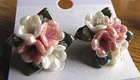 Милые серьги-гвоздики № 11 от Студии  www.LadyStyle.Biz