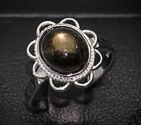 Потрясающий перстень с редким звездчатым сапфиром, размер 17 от студии  LadyStyle.Biz, фото 1