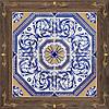 40х40 Керамическая плитка пол Valencia коричневый