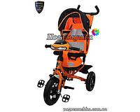 Детский трехколесный велосипед Crosser T-One Air - Оранжевый