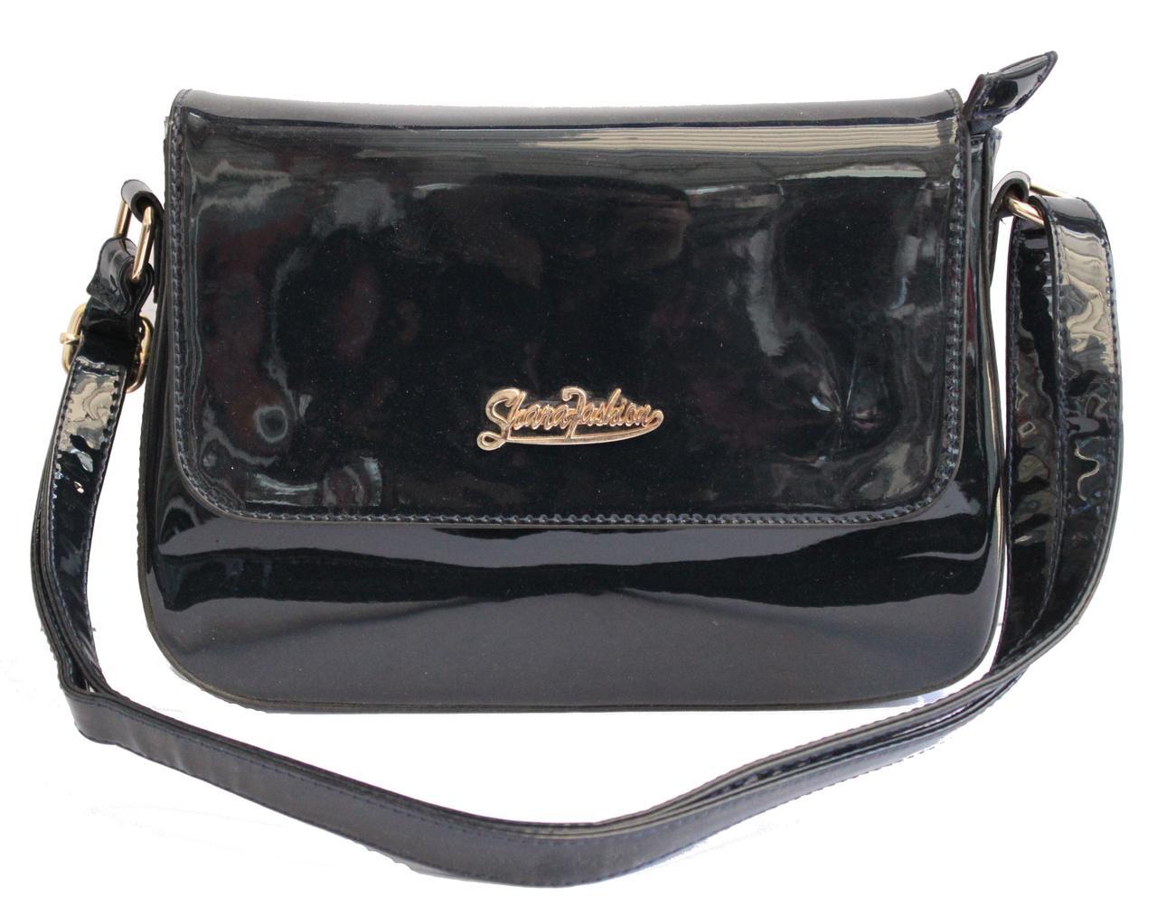 c803ae301806 Женская лаковая сумка Lak-24 Синий , цена 309,30 грн., купить в ...