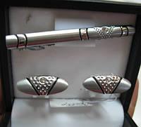 """Необычный набор """"Шик"""" (запонки и зажим для галстука) от Студии  www.LadyStyle.Biz, фото 1"""