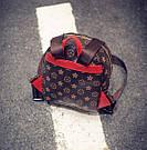 Рюкзак в стиле Loui Vuitton., фото 4