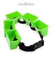 Пояс-тренажер для развития выносливости Mad Wave Break Belt